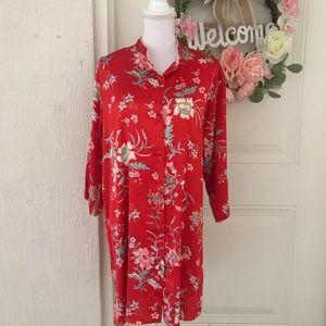 Asian Inspired Night Shirt